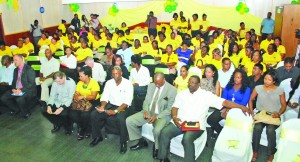 A section of the audience at the Guyana Women Miners Organisation anniversary celebration