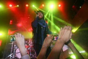 Maxi Priest brings reggae to the fans at Stage 48 in Manhattan, on March 31, 2013 (Photography by Clyde Belcon)