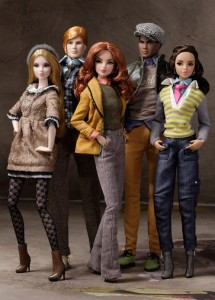 Dolls from the Spring 2012 Dynamite Girls Collection