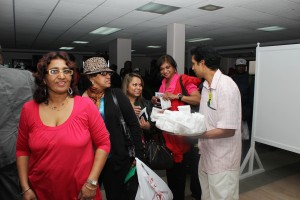 Hundreds of visitors arriving in Guyana were on Sunday (May 5) treated to a special Arrival Day welcome at the Cheddi Jagan International Airport (CJIA), Timehri, East Bank Demerara.