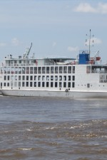 The new roll-on/roll-off ferry vessel 'MV Kanawan' made its first commercial trip in September 2012, from Parika to Supenaam. The 'Sabanto' and 'Kanawan' were added to the fleet of vessels used by the Ministry of Public Works to boost its water transportation services, as each has a seating capacity of 800 and a decking capacity of 20 lorries or 44 cars, along with a modern VIP lounge. Government invested Gy$240.1M and Gy$138M for the construction of docking facilities at Parika and Supenaam respectively, to accommodate the vessels.
