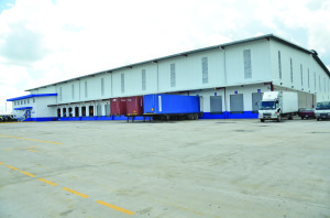 The 60,000 square feet distribution centre at Eccles Industrial Site
