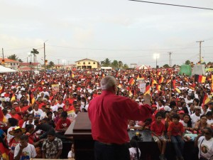 They came in their thousands! PPP/C supporters flock major rallies at Essequibo and Berbice last weekend in support of their party. This Sunday, a massive rally is planned for Stewartville, WCD.