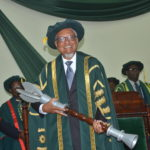 Dr Nigel Harris installed as new UG Chancellor