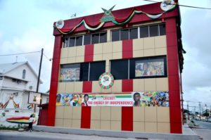 The new CPL OPCO (Guyana) Inc Office and Ticket Centre at Camp and Quamina Streets, Georgetown