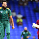 Tahir seven-for 45, Amla ton lead WI rout