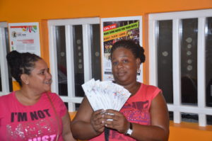 CPL fever: The CPL ticket office, located at Camp and Quamina Streets in Georgetown, was officially declared open on Thursday, June 9, 2016.  Already several cricket fans are flocking the office to purchase their tickets for the CPL matches to be held in Guyana.