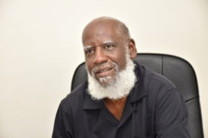 Minister Wilfred Elrington