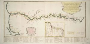 Map of 'Demerary' (Demerara) 1759