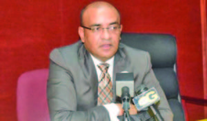 PPP General Secretary and Opposition Leader Bharrat Jagdeo