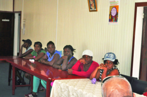 A number of the aggrieved workers who visited GAWU on Wednesday