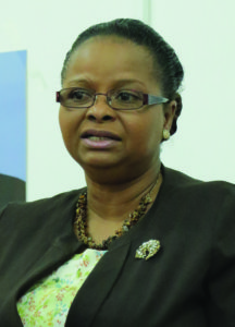 Public Health Minister, Volda Lawrence