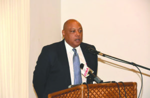 Natural Resources Minister, Raphael Trotman