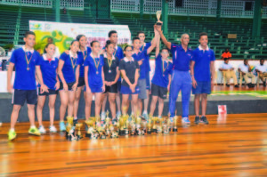 The Dominican Republic carted off the lion's share of the awards on offer at the Cliff Anderson Sports Hall on Tuesday