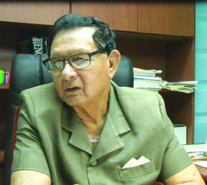 Outgoing Chairman of  Police Complaints Authority (PCA), Justice Cecil Kennard