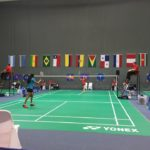 Guyanese badminton pair hot & cold on opening day