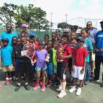 Mini-Slam tennis serves off this weekend